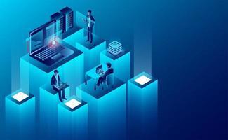 Concept de technologie numérique vecteur
