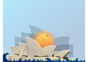 Opéra de Sydney vecteur