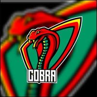 Badge de mascotte King Cobra vecteur