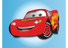 Caractère de voitures vecteur