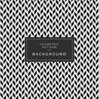 fond abstrait noir et blanc sans soudure vecteur