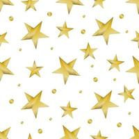 motif étoile brillante dorée