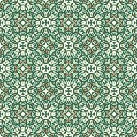 motif vert, rouge et vert clair et géométrique