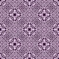 motif géométrique violet foncé et rose