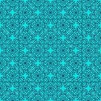 motif géométrique turquoise et bleu marine