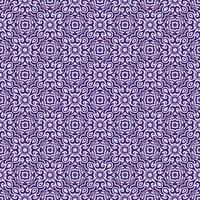motif géométrique violet foncé et violet plus clair