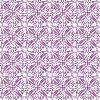 violet clair avec détails géométriques violet foncé