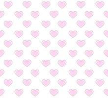 motif de coeurs en médaillon rose
