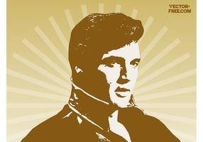 Elvis Presley vecteur