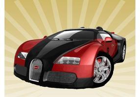 Bugatti Veyron vecteur