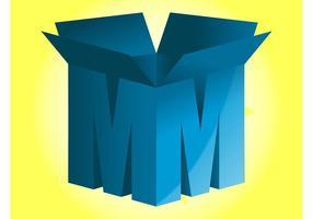 Lettre Logo vecteur