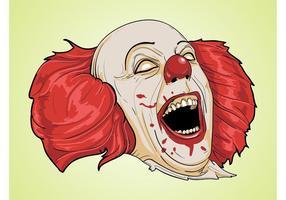 Pennywise clown vecteur