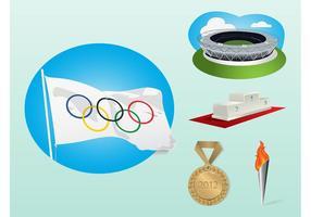 jeux olympiques vecteur