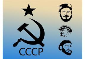 Vecteurs communistes vecteur