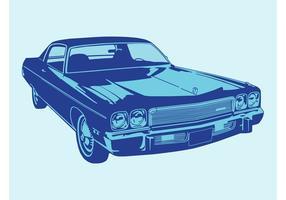 Vecteur de voiture de dessin animé