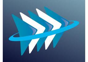 Vector logo abstrait