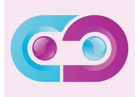 Logo courbé