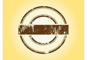 Modèle de logo rétro