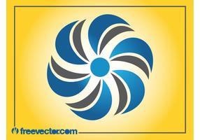Modèle de logo de fleur