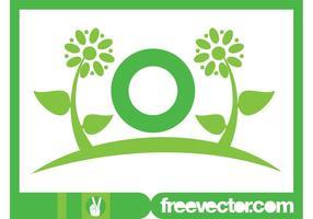 Modèle de logo de fleurs