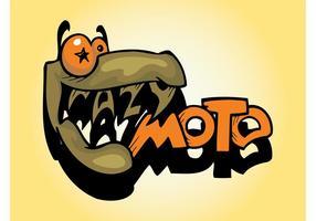 Logo moto fou