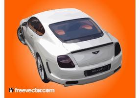 Bentley continental vecteur