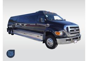 hummer limo vecteur