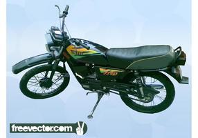 Yamaha Moto vecteur
