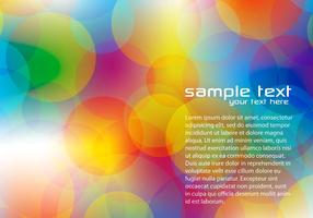 Bright Bokeh Background Vector