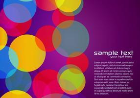 Violet Vecteur de fond coloré