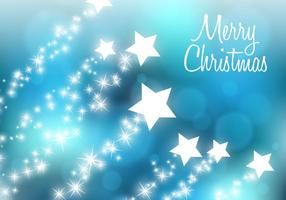 Star Filled Christmas Vector Background