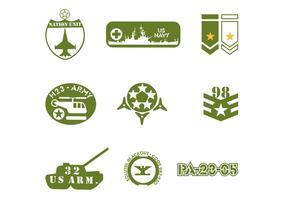 Pack vecteur de l'armée