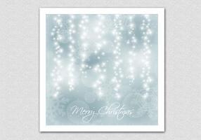 Sparkling Bokeh Christmas Vector Background