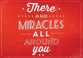 Fond de vecteur des miracles rouges