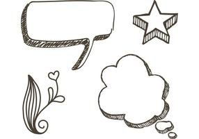 Vecteurs Sketchy Doodle gratuit