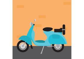 vespa moto vecteur