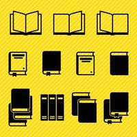 Vecteurs de livre d'icônes