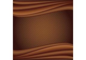 Fond liquide liquide au chocolat vecteur