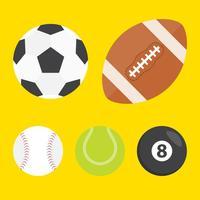 Boules de sport vectoriel