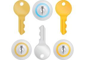 Vecteurs clés vecteur