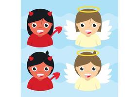 Angels & Demon Vectors