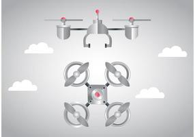 Vecteur de drone d'espion