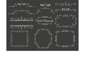 Ornements vectoriels décoratifs