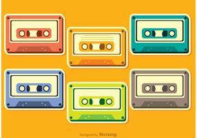 Pack de vecteurs de cassette vecteur