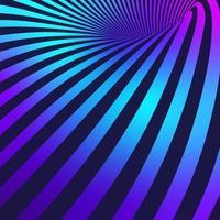mouvement des lignes fond néon vecteur
