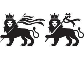 Lions de Judah vecteur
