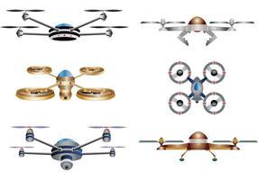 Vecteurs drone vecteur