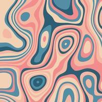 abstrait avec un design de topographie colorée vecteur