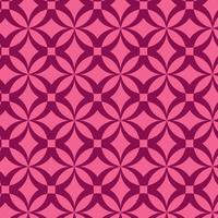 conception de motif géométrique rose