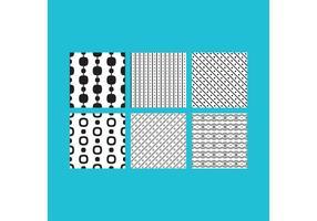 Simple B & W Patterns 2 vecteur